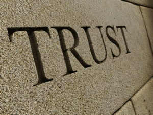 Trust is a word used by funeral directors. Often you have to keep them honest so there can be trust.