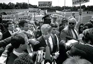 Jack Kemp 1988 in his run up to the Presidential Primaries.