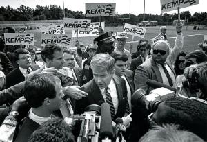 Jack Kemp running for President in 1988