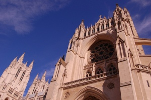 Washington National Cathedral where the Jack Kemp Funeral was held