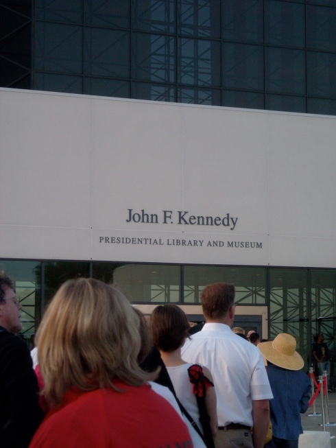 JFK Library and Museum was the location of the Ted Kennedy memorial  service (Irish Wake)