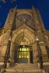 Services will be at St.Patricks in the City Catholic Church in Washington DC