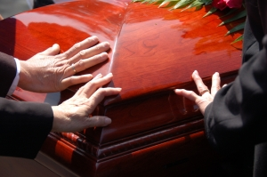 the sale of Wal-Mart Caskets threaten the traditional funeral director
