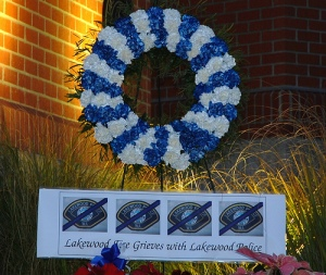 Memorial For Lakewood Officers