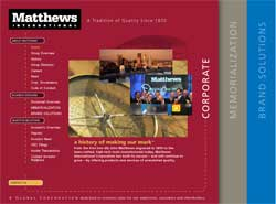 A major funeral corporations numbers point to funeral for Matthews international corp