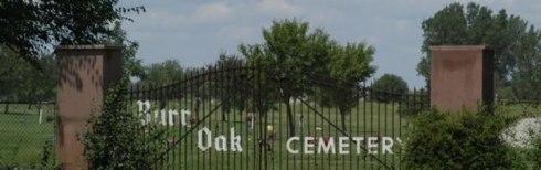 burr oa cemetery